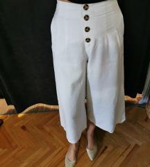 Bijele hlače visokog struka