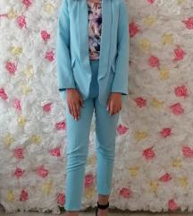 Žensko plavo odijelo, S/M