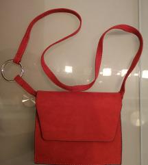 Crvena torbica od eko koze