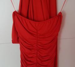 Giovanni crvena haljina nosiva na 7 nacina S/M