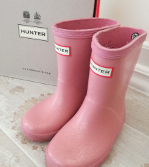 HUNTER ORGINAL FIRST GLITTER KIDS FOUNDANT PINK