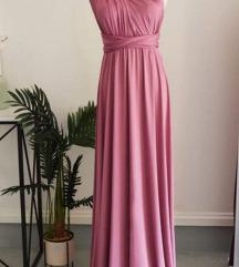 Svečana infinity haljina