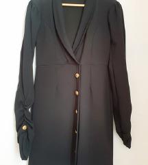 PRETTY LITTLE THING crna sako haljina 🎀