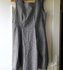 Retro haljina na kockice 38