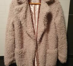 HITNO Teddy bunda kaput novi S/M pt u cijeni!