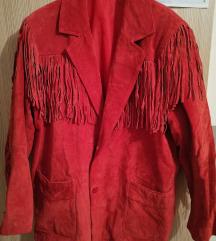 Kozna jakna s resama