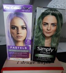 % Polutrajna boja za kosu