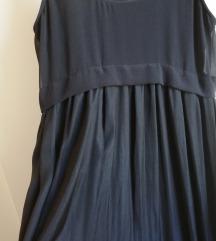 Zara dugačka crna haljina M NOVO