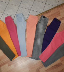 All colours jeans