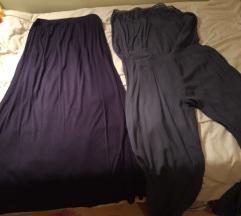 Duga suknja i kombinezon