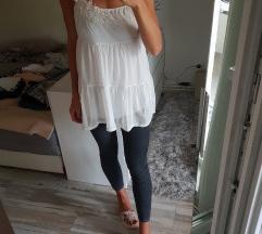 H&M bijela tunika/top