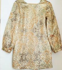 ZARA zlatna haljina 🎀z