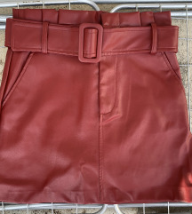 Zara kozna suknja S