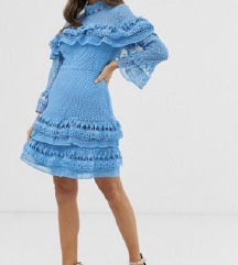 Plava svečana haljina