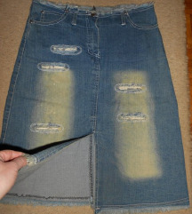 traper suknja sa zakrpama