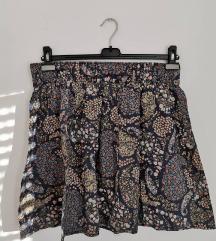 H&M cvjetna suknja s uzorkom