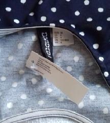 H&M haljina na točkice s etiketom