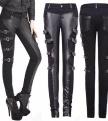 Kožne hlače s remenčićima
