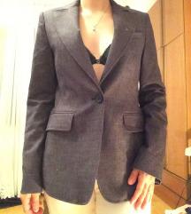 Sivi ženski sako