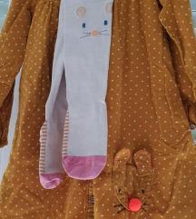Next haljina sa stramplama, vel.4-5
