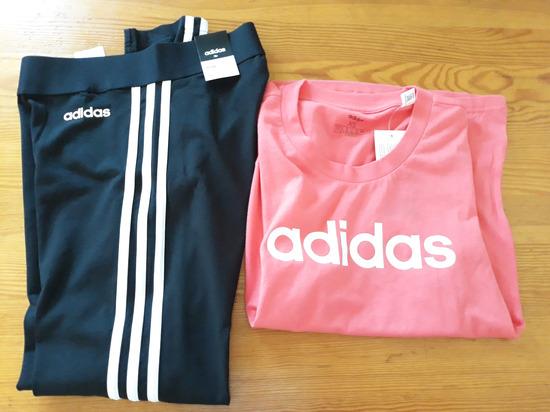 Novi original lot adidas tajice i majica