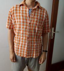 Karirana muška košulja kratki rukav
