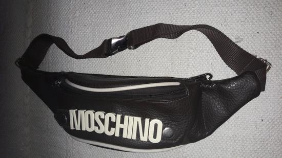 MOSCHINO kožna torbica