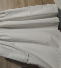 Bijela vintage suknja, M vel.