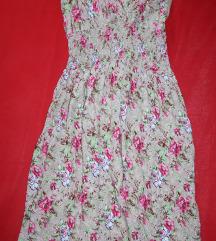 Lagana cvijetna haljina