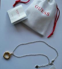 GUESS zlatna ogrlica