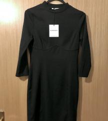 NOVA s etiketom! Crna kratka haljina