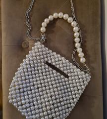 Zara pearl bag