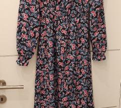 midi haljina sa prorezom Novo uni vel