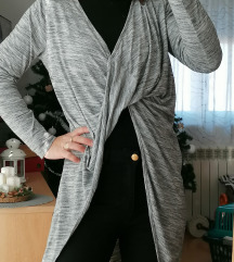 Tunika siva zanimljiva M