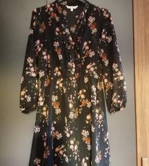 Cvjetna haljina sa volanima 36 PRODANO