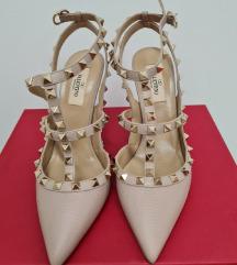 ORIGINAL Valentino Garavani Rockstud kožne sandale
