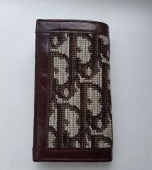 Vintage Christian Dior novcanik za kljuceve