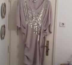 Svečana haljina boje pudera