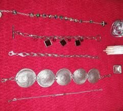 Ženski nakit narukvice /prsteni