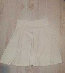 svecana bijela suknja