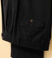 Vintage hlače 38/40, petrolej zelene