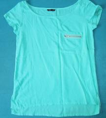 Bluza tirkizne boje