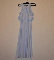 Duga haljina na kopcanje