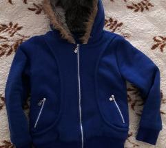 Kraljevsko plava jakna