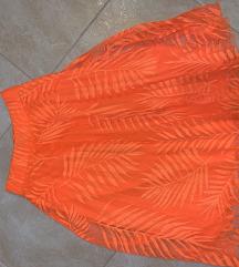 Neon narančasta suknja