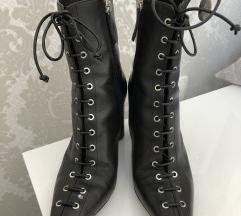 * ZARA LACE UP CIZME *