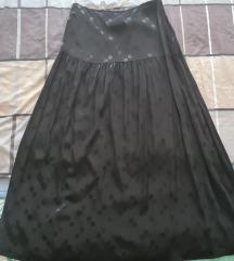 Edited dugačka crna suknja