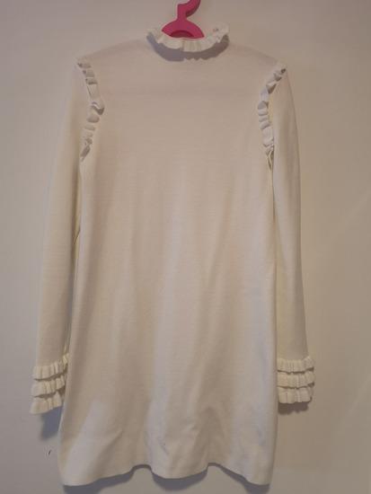 Zara bijela haljina (tunika)