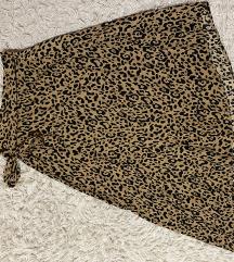 Suknja leopard uzorka