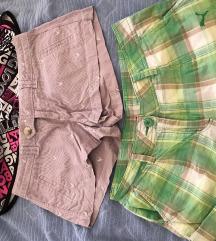 Kratke hlačice, 3 kom